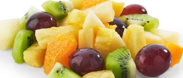Frutas y Verduras Lavadas e Listas para comer
