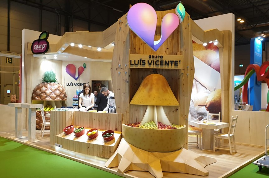 Oct 2018 – Grupo Luis Vicente en la Fruit Attraction
